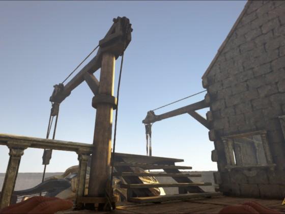 Stationierter U-Boot Hafen