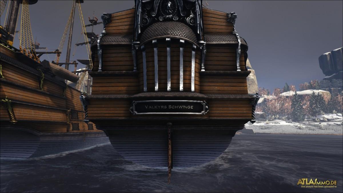 Valkyrs Schwinge: Das Versorgungsschiff