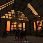 Sonnenaufgang über Kuhschiss