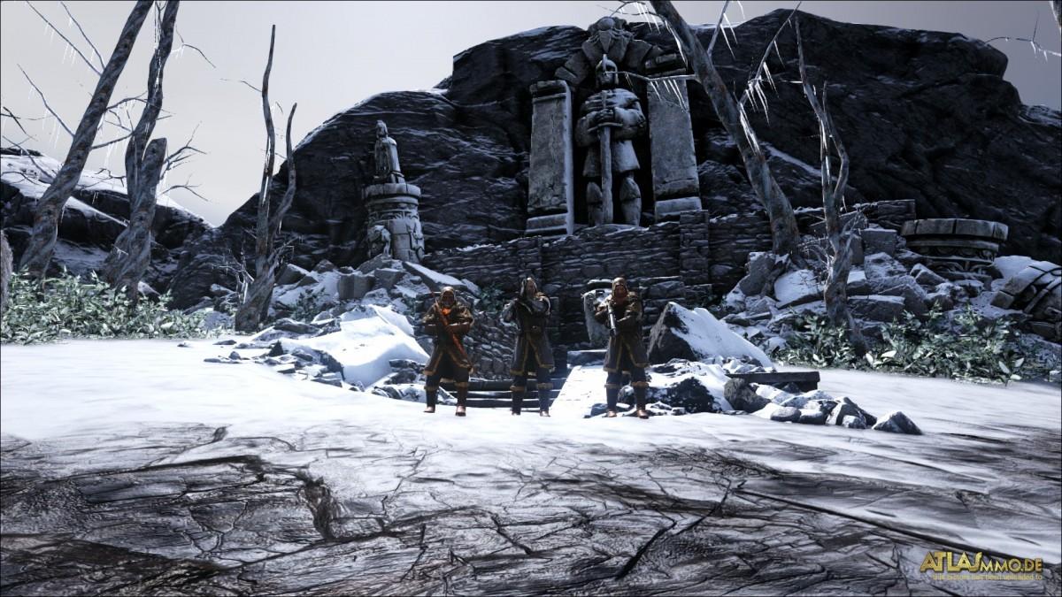 Vor dem Eisigen Grab