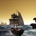 Die Bären wollen nicht aufm Schiff bleiben xD